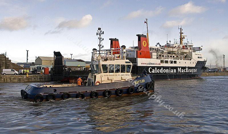 Battler escorting a Ferry