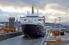 'MV Isle of Arran' in the Garvel Dry Dock - 6 February 2014