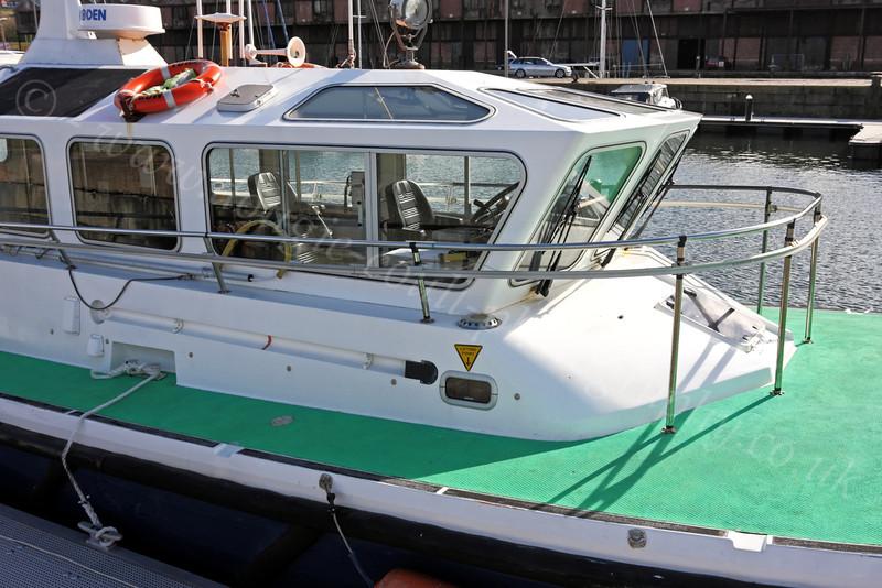 Pilot Cutter 'Toward' - James Watt Dock Marina - 9 April 2012