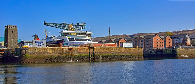 James Watt Dock - 24 April 2021