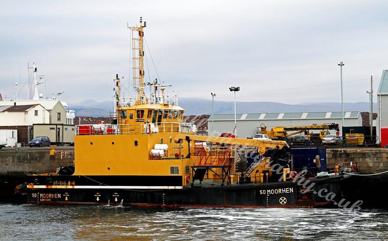 SD Moorhen - Serco Diving Vessel