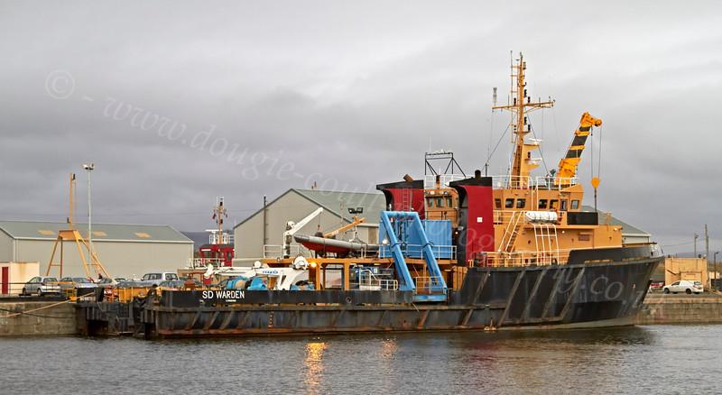 SD Warden - James Watt Dock - 16 November 2012