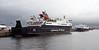 MV Hebrides with Hebridean Princess - James Watt Dock - 3 January 2013