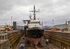 'SD Warden' in Garvel Dry Dock - 11 April 2014
