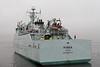 Minna Departs - James Watt Dock - 27 December 2011