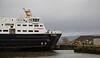 'MV Clansman' at Garvel Dry Dock - 22 February 2014