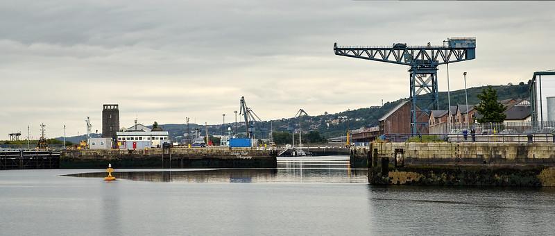 James Watt Dock Entrance - 12 June 2012