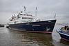 Hebridean Princess at James Watt Dock - 21 December 2020