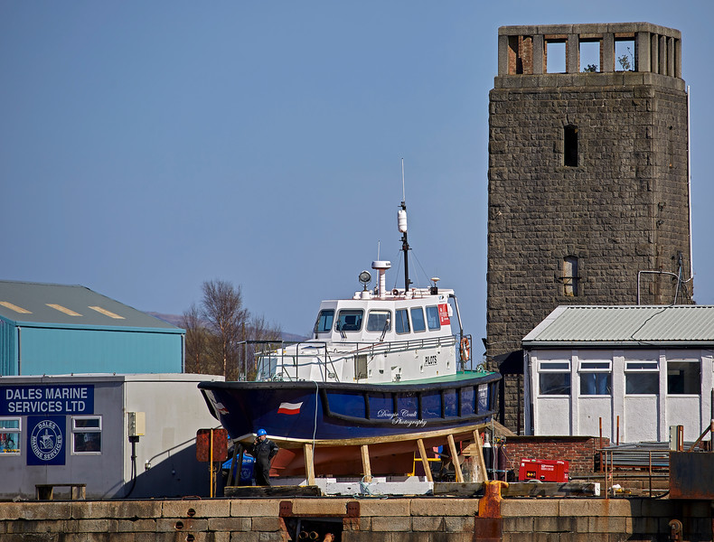 Mount Stuart at James Watt Dock - 21 April 2021