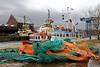 Nets and Boats - James Watt Dock, Greenock