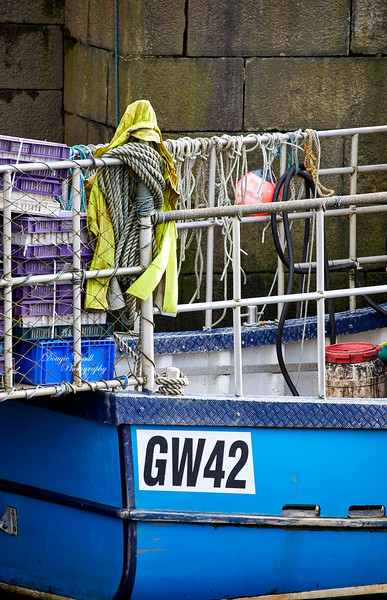 Trawlers at James Watt Dock - 30 March 2021