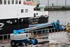 Isle of Mull - Paint Job - Garvel Dry Dock - 10 December 2011