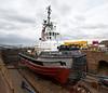 SD Impulse in Garvel Dry Dock - 24 March 2013