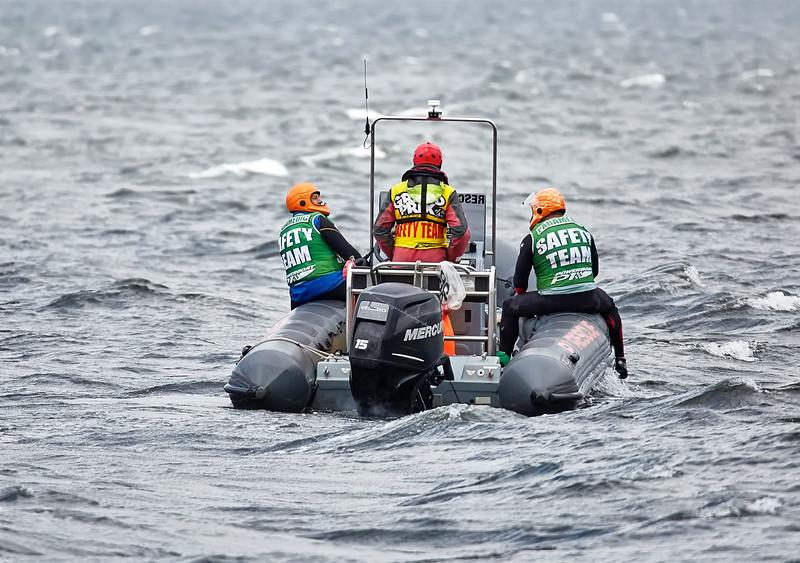 P1 Powerboats Rescue Boat off Greenock Esplanade - 25 June 2017