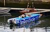'Panther P1 Powerboat' leaving James Watt Dock Marina - 14 June 2016