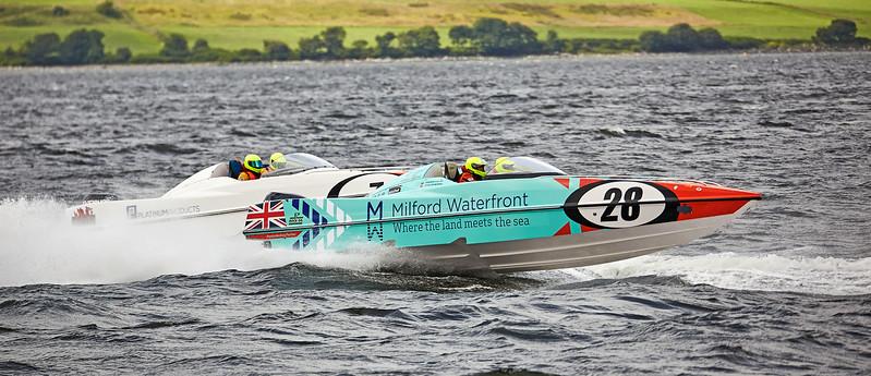 P1 Powerboats off Greenock Esplanade - 25 June 2017