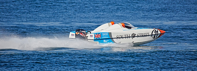 P1 Powerboats Race off Greenock Esplanade - 18 June 2016