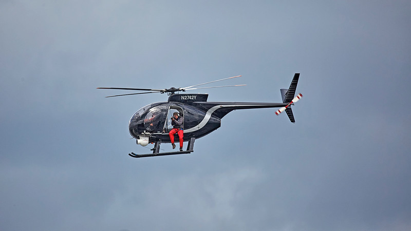 P1 Powerboats Helicopter Crew off Greenock Esplanade - 25 June 2017