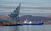 'Lysblink Seaways' Off Greenock Ocean Terminal - 22 November 2013