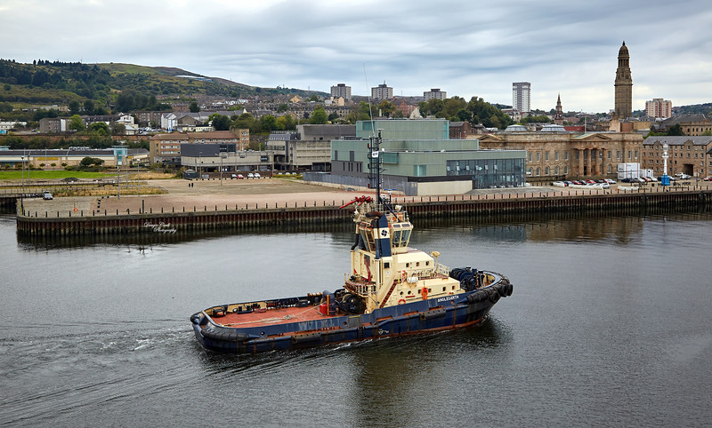 Anglegarth on the River Clyde - 3 September 2014