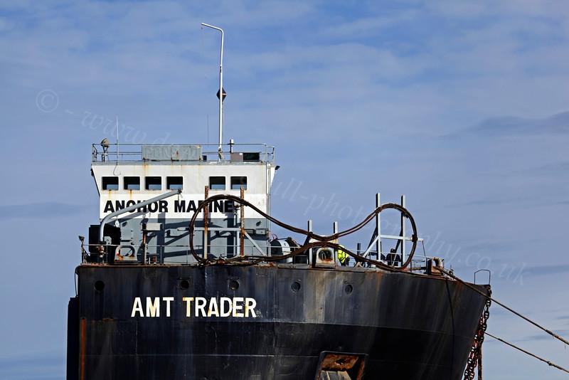 AMT Trader - Off Greenock Esplanade - 27 September 2012