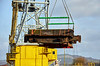 Linkspan hoist with the Lara 1 at James Watt Dock - 21 November 2020