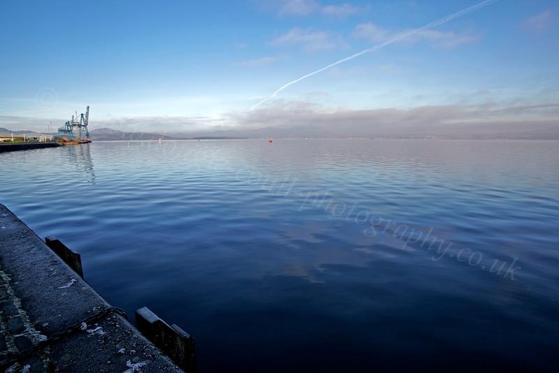 View - from Custom House Quay - 30 November 2012