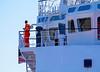 Vos Shine Berthing in James Watt Dock - 25 February 2013