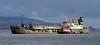 WD Mersey and Tioga B - Off Greenock Esplanade - 15 March 2013