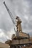 Crane at King George V Docks - 23 August 2017