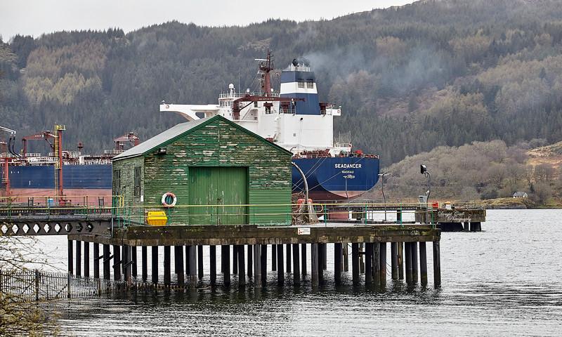 Finnart Oil Terminal on Loch Long - 3 May 2013