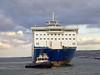 Bruiser Assists MV Finnarrow - 20 March 2013
