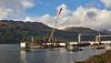 Glen Mallan Jetty in Loch Long - 25 February 2021