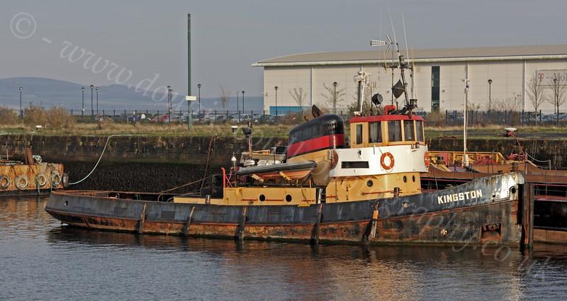 'Kingston' Tug - Victoria Harbour - 24 October 2011