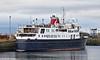 'Hebridean Princess' at James Watt Dock - 8 March 2021