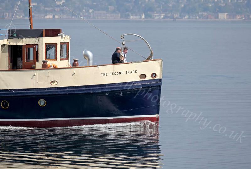 The Second Snark - Off Custom House Quay, Greenock - 23 May 2012