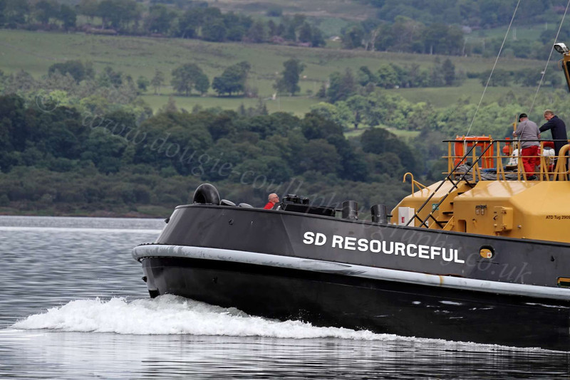 SD Resourceful - Off East India Harbour - 6 June 2012