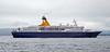 Cruise Ship - Quest for Adventure - Off Greenock Esplanade - 7 July 2012