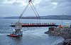 Installing the Linkspan at McInroy's Point, Gourock - 15 January 2018