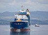 'Onego Trader' approaching Greenock - 26 May 2014