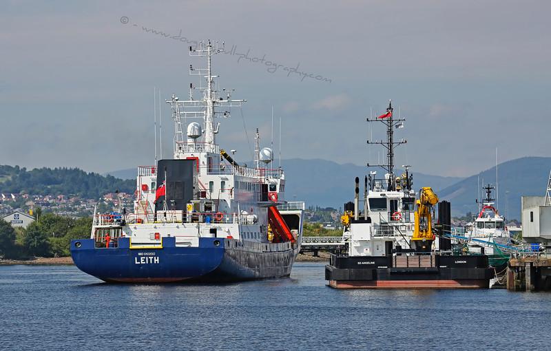 'Kommandor Calum' at Great Harbour in Greenock - 13 August 2015