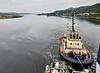'Amur Star' inbound to Rothesay Dock - 3 September 2014
