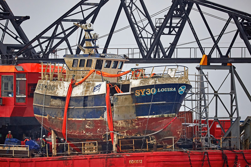 'C-Chariot' at Port Glasgow - 17 May 2016