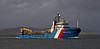 Kingdom of Fife passing Garvel Dock - 17 February 2021