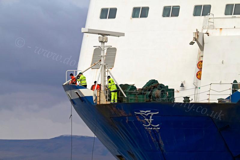 MV Finnarrow Working Crew - 20 March 2013