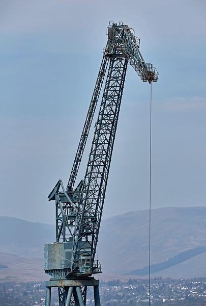 Cranes at Inchgreen Dry Dock - 1 May 2017