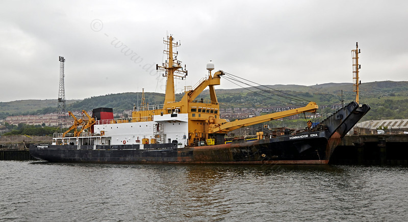 'Kommandor Iona' - Great Harbour - 10 June 2013