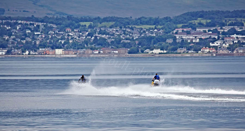 Jet Skis - Off East India Harbour - 20 July 2012