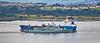 NRP Corte-Real (F332) passing Bro Nissum off Langbank - 15 September 2021