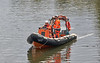 RHIB with Barge Transport at Inchinnan Bascule Bridge - 23 September 2021